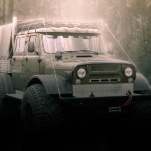Универсальный внедорожник на базе кузовов УАЗ
