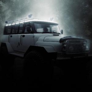 Цельнометаллический кузов внедорожника на базе УАЗов